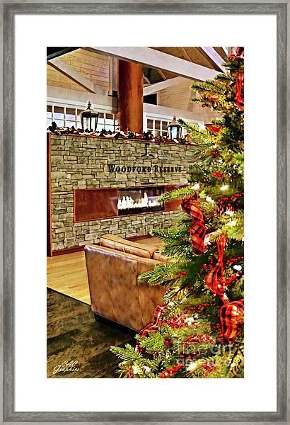 Christmas At Woodford Reserve Framed Print