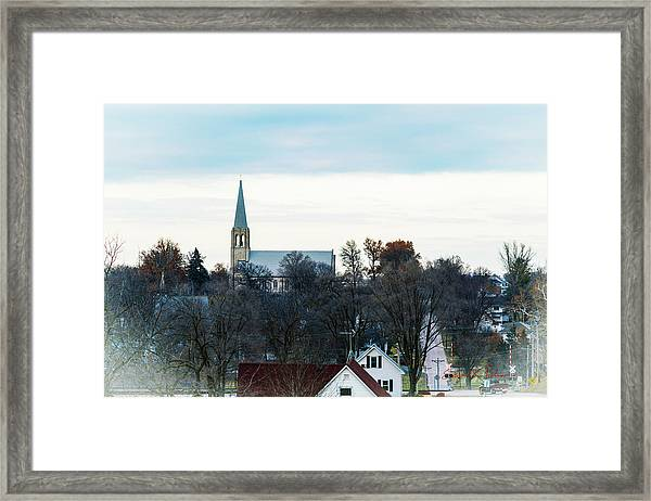 Christmas Day Drive Framed Print