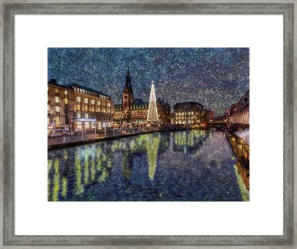Christmas Hamburg Framed Print