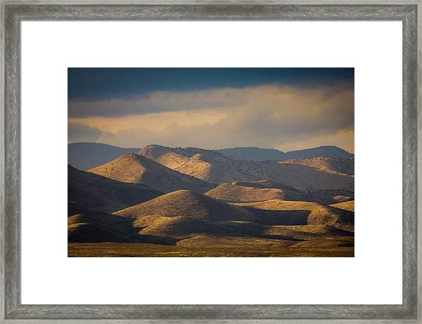 Chupadera Mountains II Framed Print