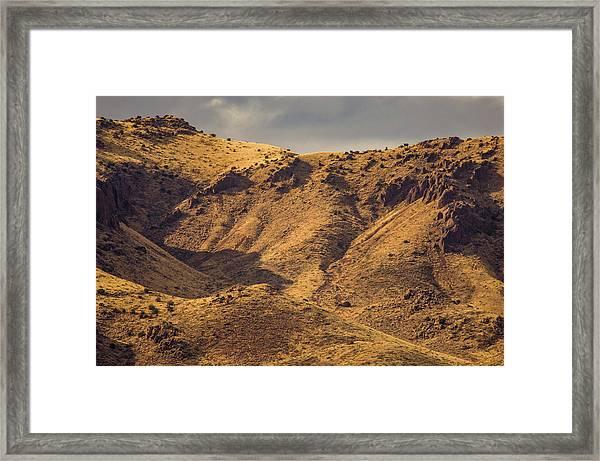 Chupadera Mountains Framed Print