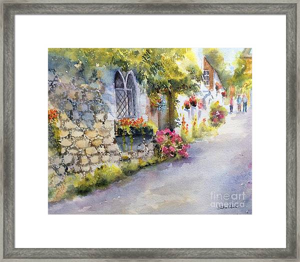 Church Hill, Hythe, Kent Framed Print