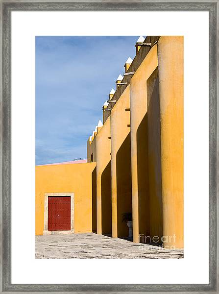 Church In Mexico Framed Print