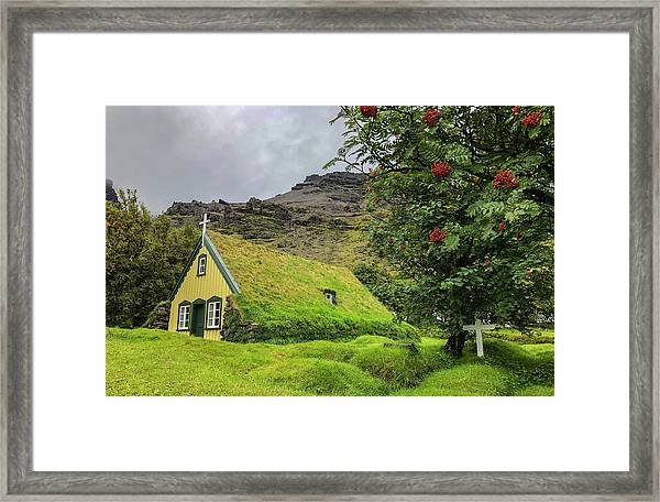Church Of The Holy Moss Framed Print