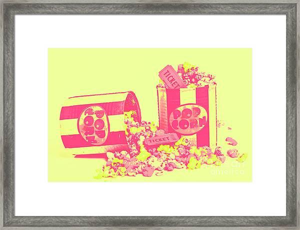 Cine Design Framed Print