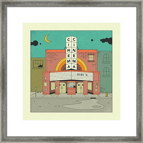 Cinema Framed Print