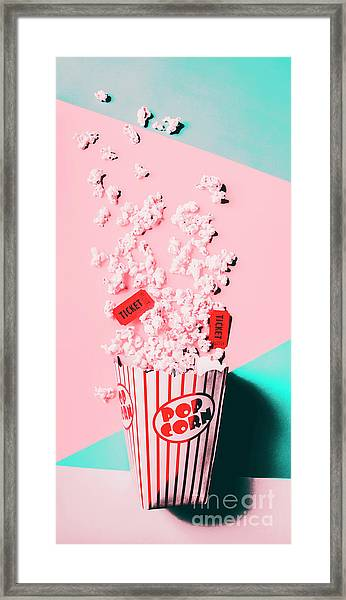 Cinema Pop Framed Print