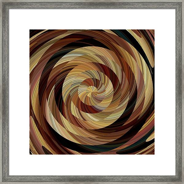 Cinnamon Roll Framed Print