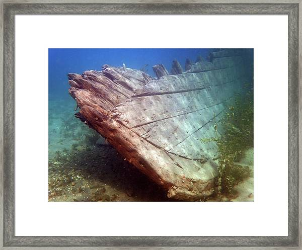City Of Grand Rapids Shipwreck Ontario Canada 8081801c Framed Print