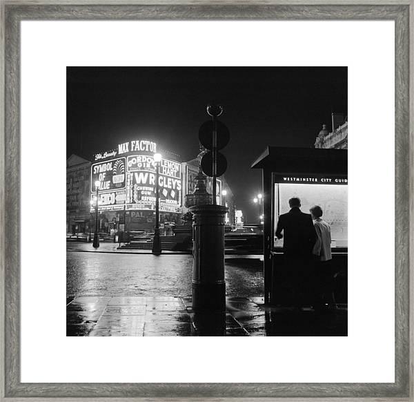 City Of Westminster Framed Print