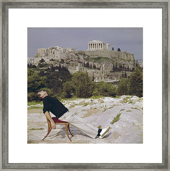 Civilised Snooze Framed Print
