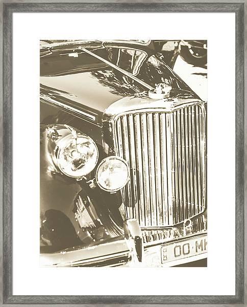 Classic Car Chrome Framed Print