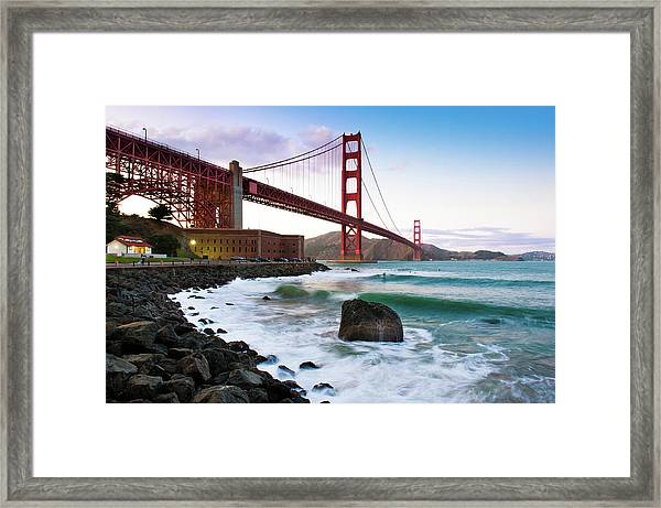 Classic Golden Gate Bridge Framed Print