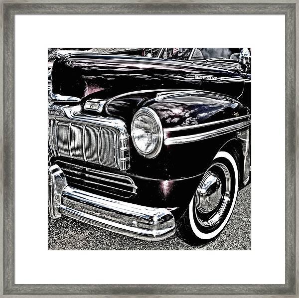 Classic Mercury Framed Print