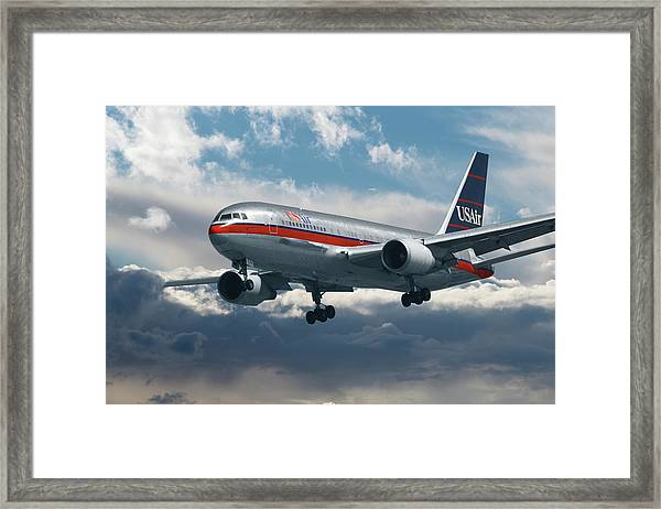 Classic Us Air Framed Print
