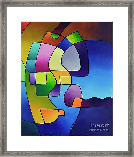 Clear Focus 2, Canvas Three Framed Print