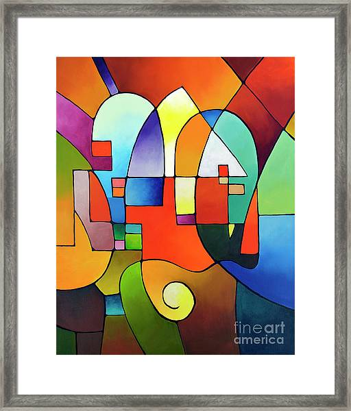 Clear Focus 2, Canvas Two Framed Print