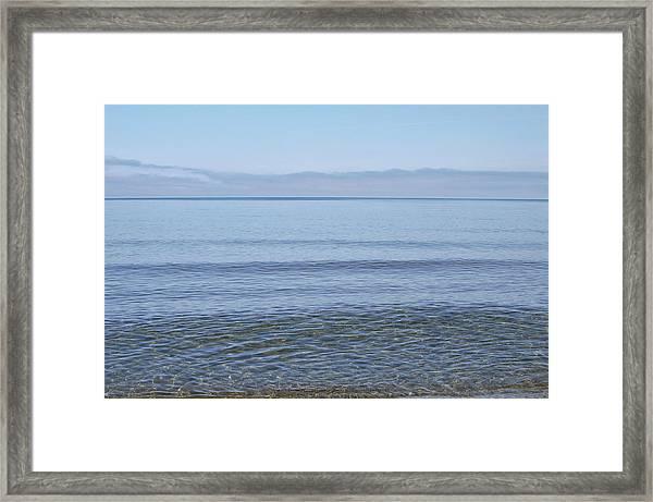Clear Lake Superior Framed Print