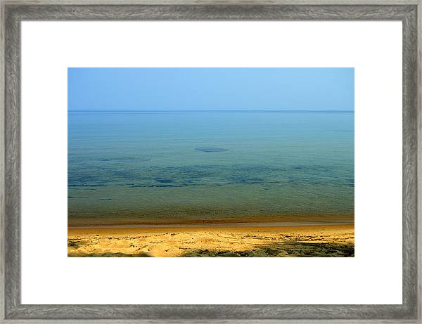 Clearness Of Lake Superior Framed Print