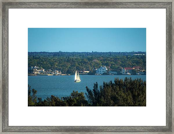 Clearwater Sails Framed Print
