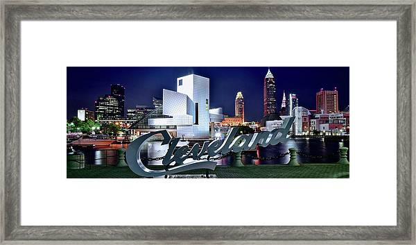 Cleveland Ohio 2019 Framed Print