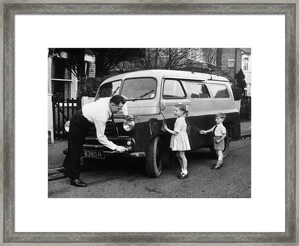 Clever Dad Framed Print