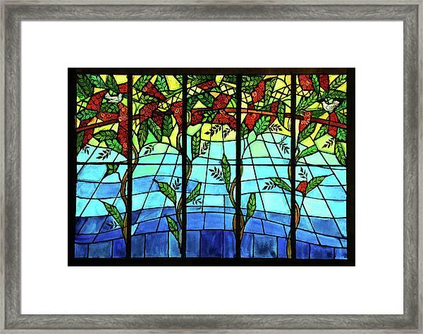 Climbing Vines Framed Print