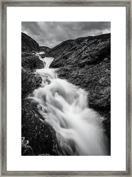 close to Ygnisdalselvi, Norway Framed Print