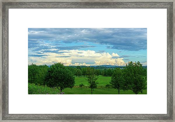 Cloud View Lehigh Valley Framed Print