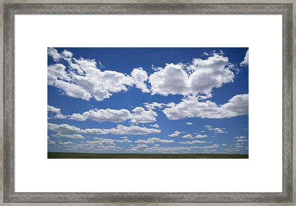 Clouds, Part 1 Framed Print