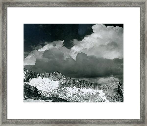 Clouds - White Pass Framed Print by Archive Photos