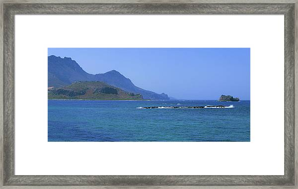 Coast Of Gramvousa Framed Print