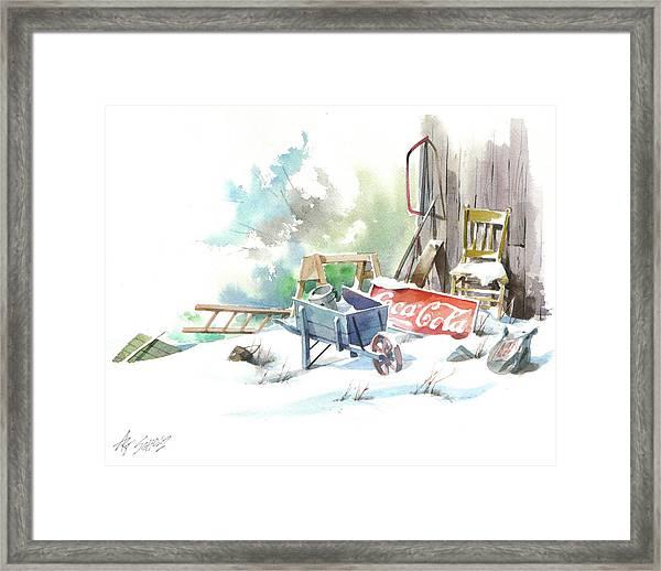Cold Cola Framed Print by Art Scholz