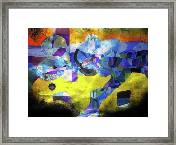Cold Evening Wind Framed Print