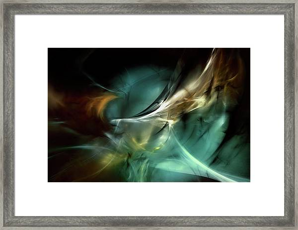 Cold Fusion Framed Print