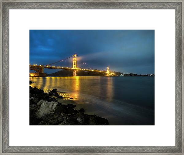 Cold Night- Framed Print