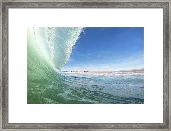 Coldlantic Framed Print