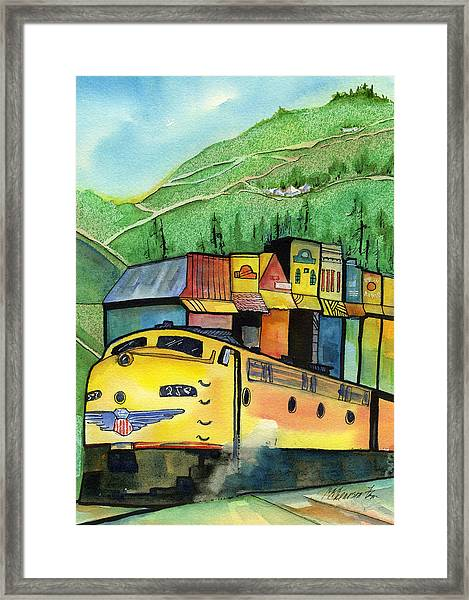 Colfax California Framed Print