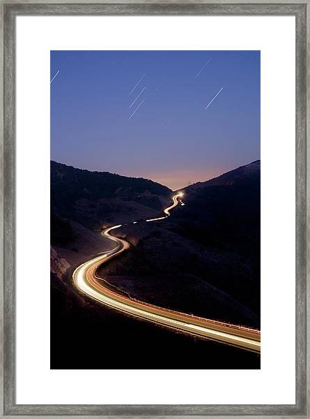 Coll De La Taixeta Framed Print