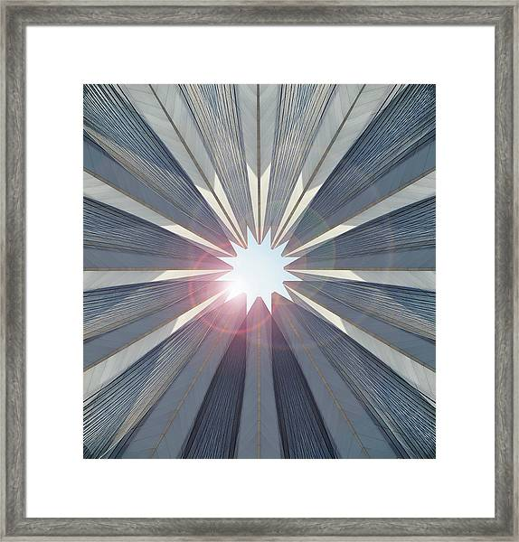 Collage Of Buildings Framed Print by Paul Taylor