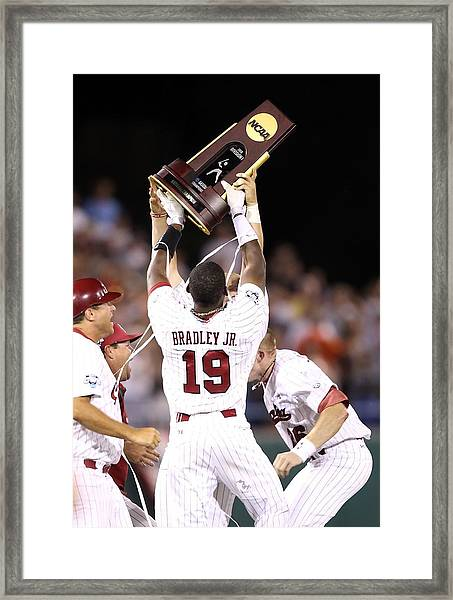 College World Series - Game Two Framed Print