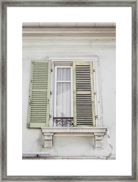 Colmar Window 01 Framed Print