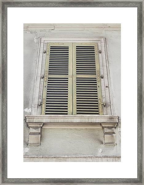 Colmar Window 02 Framed Print