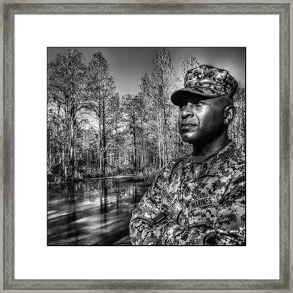 colonel Trimble 2 Framed Print