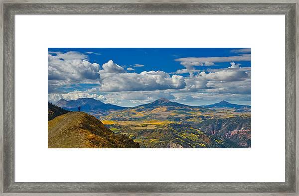 Colorado Fall Framed Print