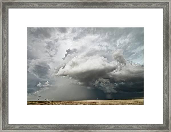 Colorado Sky Framed Print