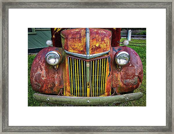 Colorful Ford Framed Print