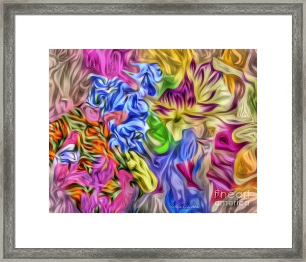 Colors From Nature Framed Print