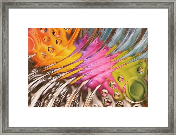 Colors In Vitro 2 Framed Print