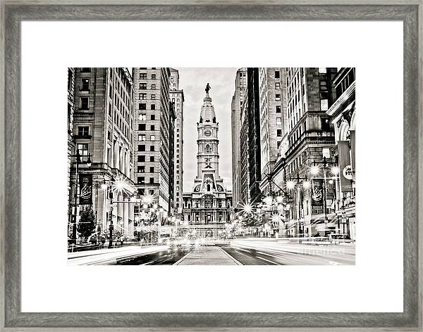 Colors On Broad B/w Framed Print by Stacey Granger